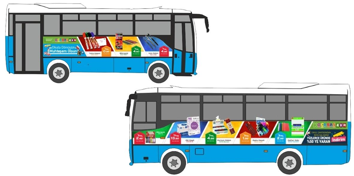Kahramanmaraş Otobüs Reklamları